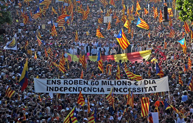 Tres mitos sobre el movimiento independentista de Cataluña