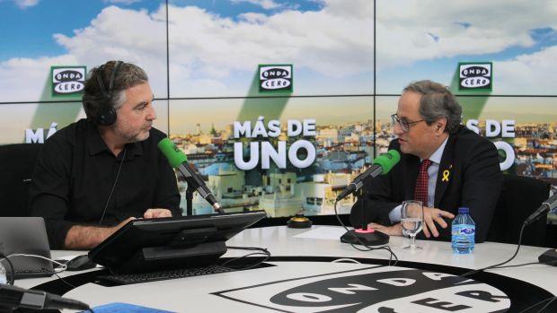 Carlos Alsina interviews Joaquim Torra