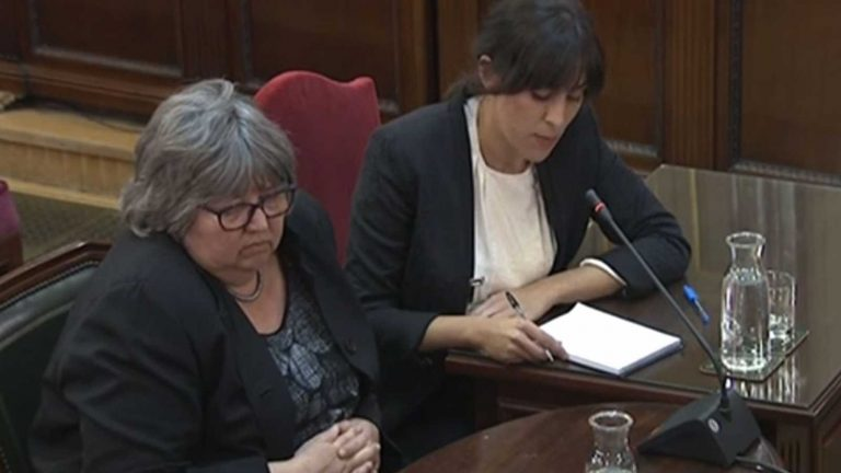 #JuicioProcés: The differences between the strategies of the defenses, the level of the international observers and charges pressed against Puigdemont in the Court of Accounts.